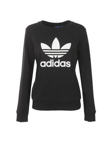 Adidas Originals Womens Black Crew Sweatshirt