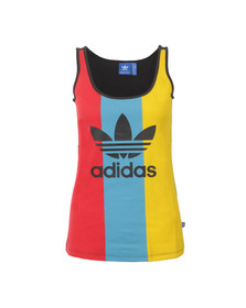 Adidas Originals Womens Multicoloured Trefoil Tank