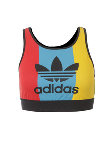 Adidas Originals Womens Multicoloured Trefoil Vest