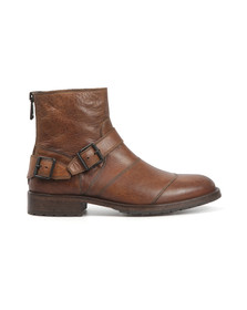 Belstaff Mens Brown Trialmaster Short Boot