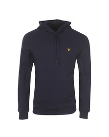 Lyle and Scott Mens Blue Hooded Sweat