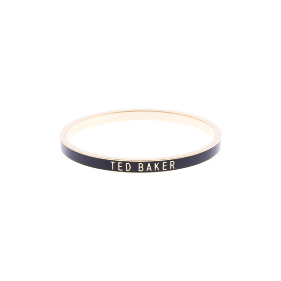 Ted Baker Womens Gold Clary Narrow Enamel Bangle main image