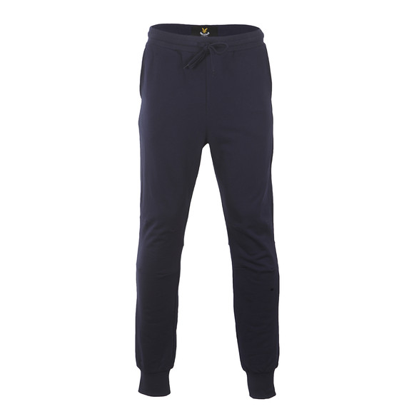 Lyle and Scott Mens Blue Slim Fit Cuffed Jogger main image