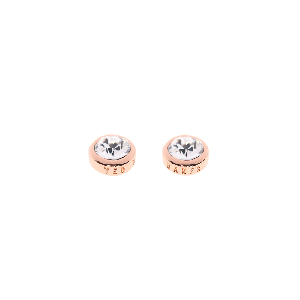 Rose Gold Sinaa Crystal Stud Earrings main image