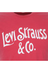 Levi's Mens Pink Graphic T-Shirt