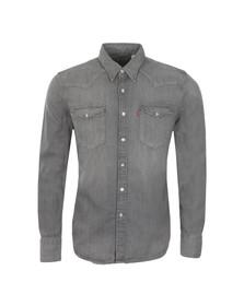 Levi's Mens Grey L/S Denim Shirt
