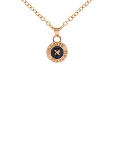 Ted Baker Womens Gold Tella Enamel Button Pendant Necklace