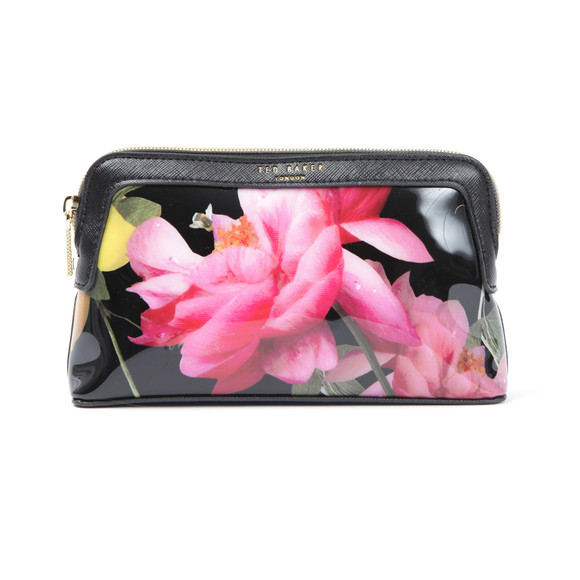 Ted Baker Womens Black Thao Citrus Bloom Make Up Bag main image