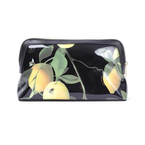 Ted Baker Womens Black Januar Citrus Bloom Large Washbag main image