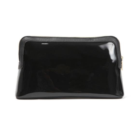 Ted Baker Womens Black Madlynn Colourblock Bow Large Washbag main image
