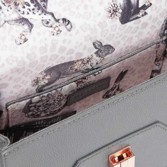 Ted Baker Womens Grey Ellen Caviar Leather Xbody Bag main image