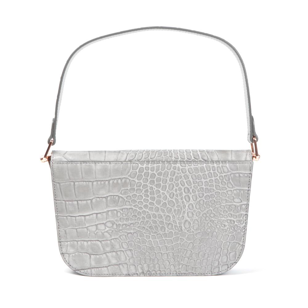Melaney Exotic Metal Bar Shoulder Bag main image