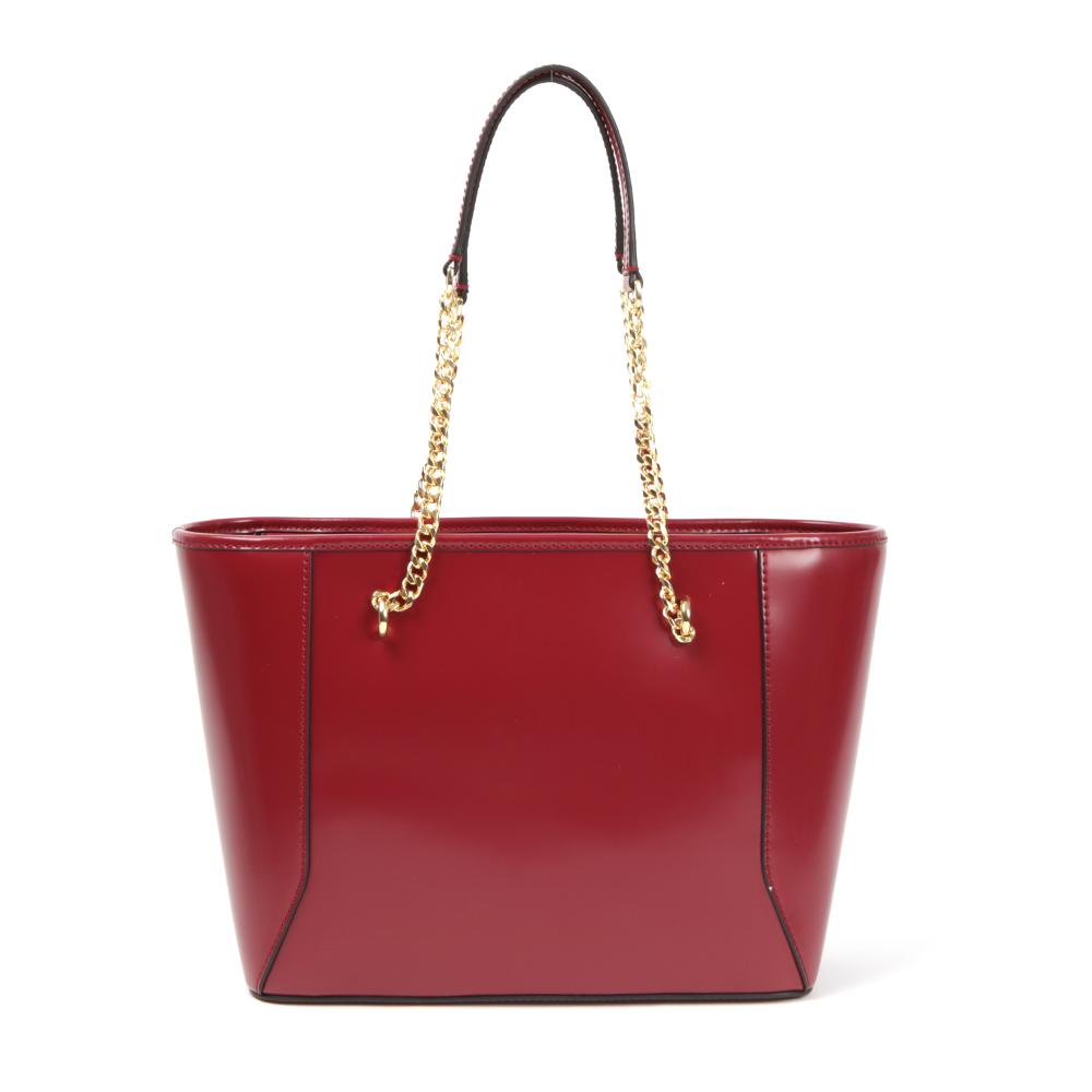 Jalie Geometric Bow Leather Shopper main image