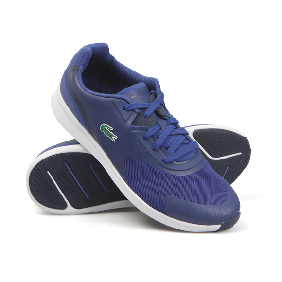 Lacoste Mens Blue Ltr.01 316 SPM Trainer main image