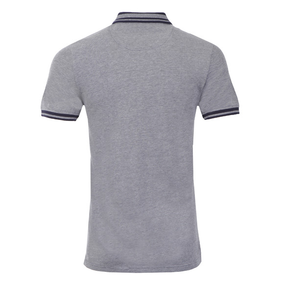 Lyle and Scott Mens Blue S/S Oxford Polo main image