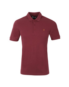 Farah Mens Red Blaney Polo Shirt