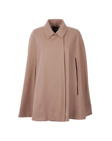 Ted Baker Womens Brown Leisl Collar Cape With Detail