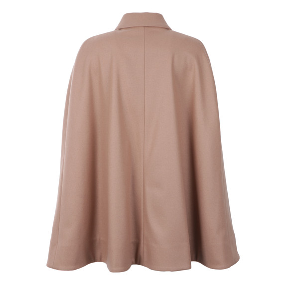 Ted Baker Womens Brown Leisl Collar Cape With Detail main image