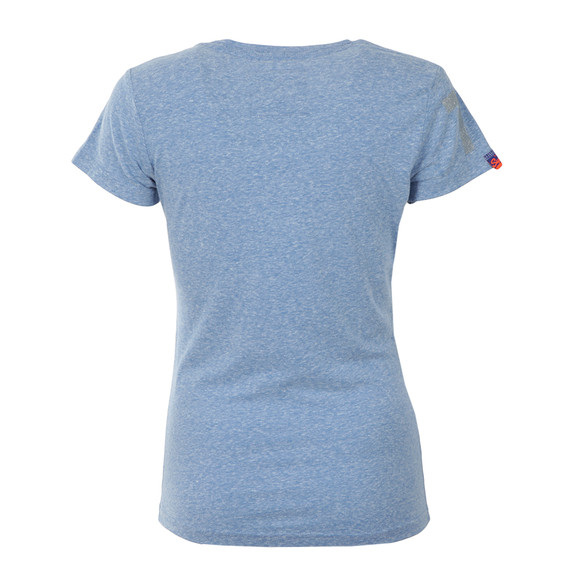 Superdry Womens Blue The Real Brand Tee main image