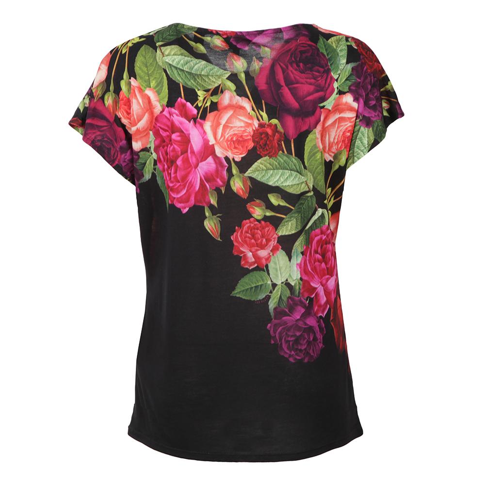 Qutie Juxtapose Rose Tee main image