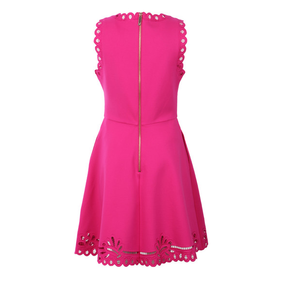 07092a2fe34041 ... Ted Baker Womens Pink Verony Embroidered Skater Dress main image save  off 08407 baed8  Bright ...