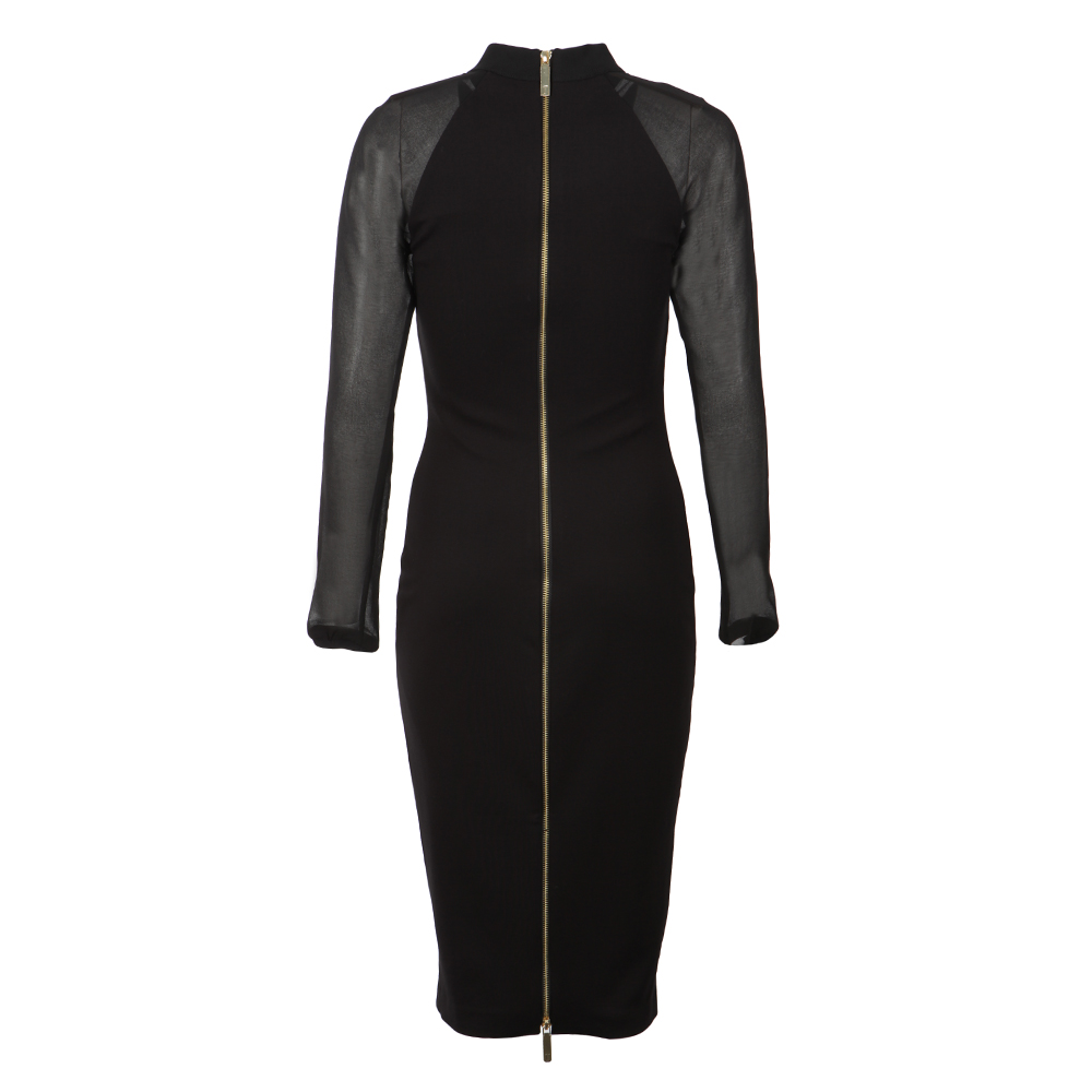 Wrenti Fitted Long Sleeve Rib Dress main image