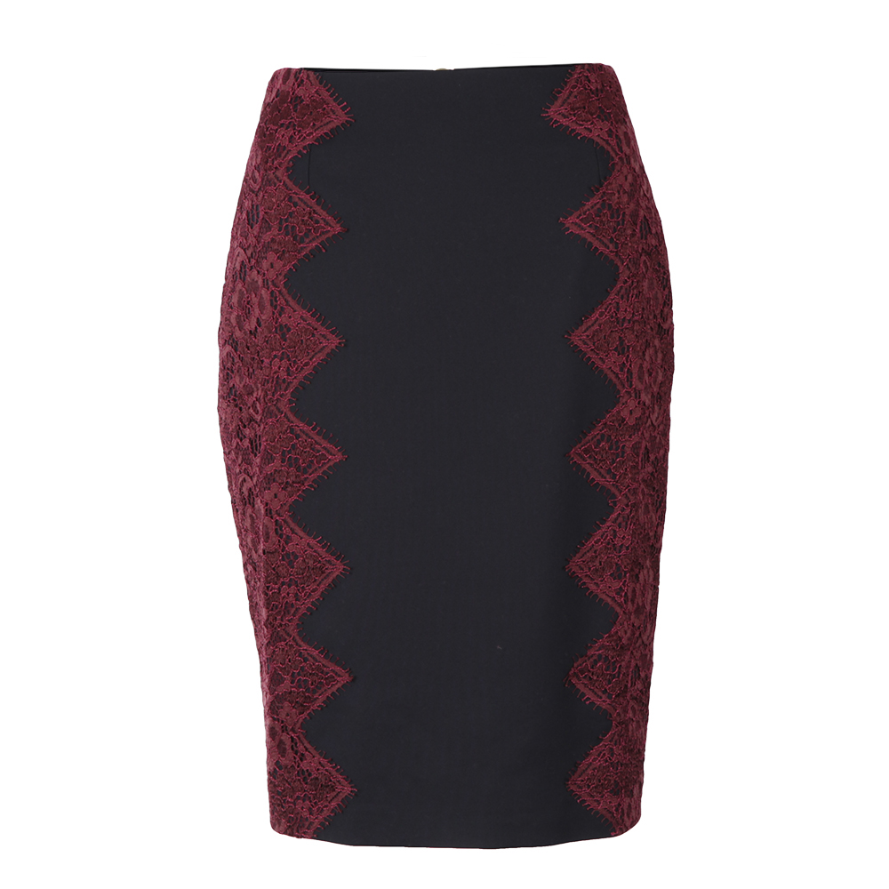 Queeny Scallop Lace Edge Skirt main image
