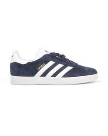 Adidas Originals Womens Blue Gazelle 2 J Trainer