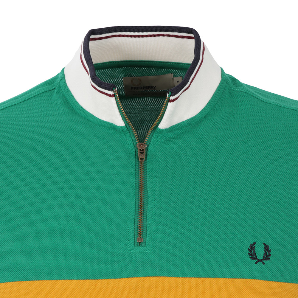 Fred Perry Bradley Wiggins Colour Block Cycling Shirt  8ff950207