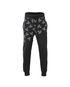 Vivienne Westwood Anglomania Mens Black Time Machine Sweatpant
