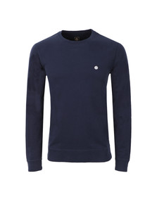 Pretty Green Mens Blue Foxlair Sweatshirt