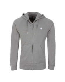 Pretty Green Mens Grey Oxted Hoody