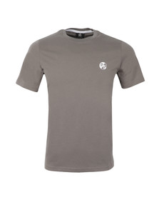 Paul Smith Mens Grey Regular Small Logo T Shirt