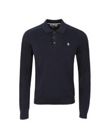 Original Penguin Mens Blue Turn It Loose Polo Shirt