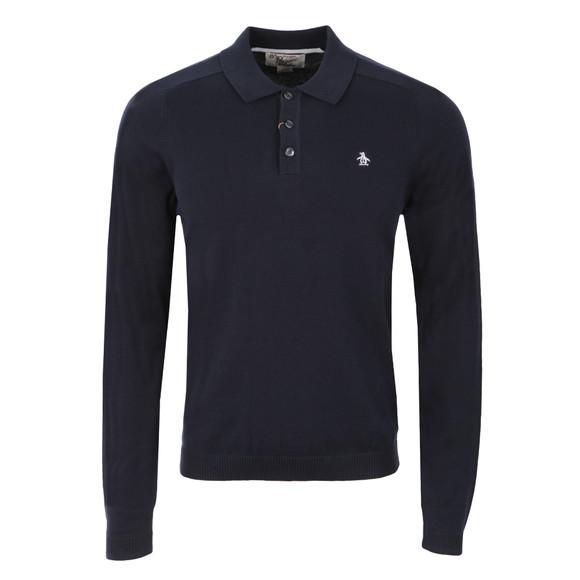 Original Penguin Mens Blue Turn It Loose Polo Shirt main image