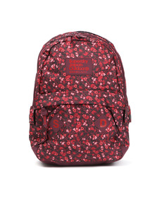 Superdry Womens Red Scatter Ditsy Montana Bag
