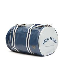 Fred Perry Sportswear Mens Blue Classic Barrel Bag