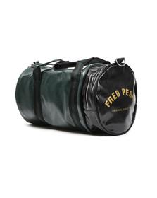 Fred Perry Sportswear Mens Green Classic Barrel Bag