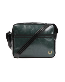 Fred Perry Mens Green Classic Shoulder Bag