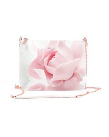 Ted Baker Womens Pink Verah Porcelain Rose Leather Xbody Bag