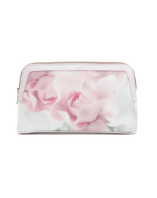 Ted Baker Womens Pink Shella Porcelain Rose Large Washbag