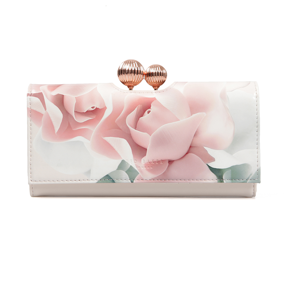 9d79267368aa0 Ted Baker Womens Pink Idella Porcelain Rose Printed Matinee Purse main  image. Loading zoom