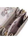 Ted Baker Womens Grey Fae Folded Edge Mini Crossbody Bag