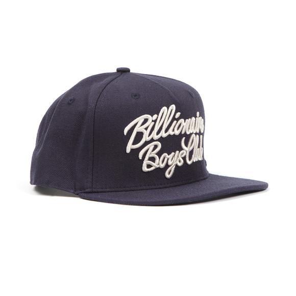 Billionaire Boys Club Mens Blue Script Logo Snapback main image
