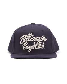 Billionaire Boys Club Mens Blue Script Logo Snapback