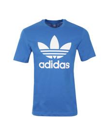 Adidas Originals Mens Blue Trefoil Tee