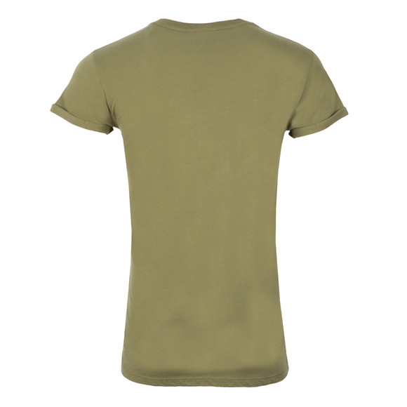 Gym king Mens Green Cap Sleeve Tee main image