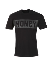 Money Mens Black Punch Out T Shirt