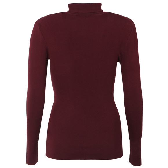 Ted Baker Womens Red Smone Compact Knit Roll Neck main image