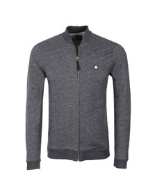Pretty Green Mens Blue Ranford Sweat Zip